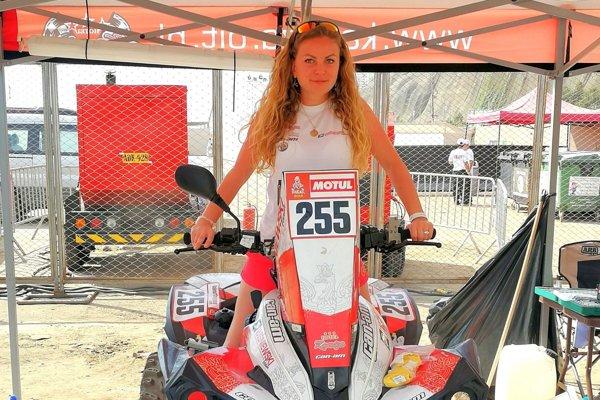 Slovenka Daniela Ozanová bola na Rely Dakar 2019 súčasťou tímu Poliaka Kamila Wisniewskeho.