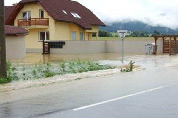 Takto by to už v Demänovej po daždi vyzerať nemalo.