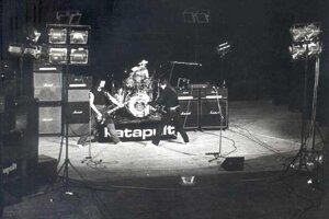 Katapult v roku 1984 v Novom Meste nad Váhom.