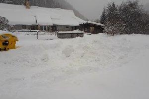 So snehom bojujú celý január, posledná vlna sneženia situáciu zhoršila.