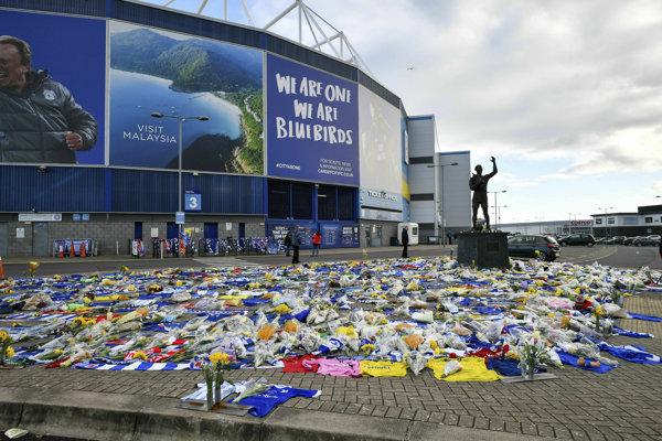 Štadión v Cardiffe.