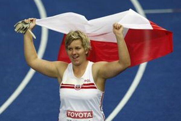 Do Dubnice možno príde aj svetová rekordérka v hode kladivom Poľka Wlodarczyková.