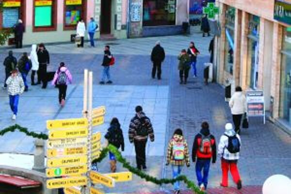 Letné terasy by mali oživiť centrum mesta.