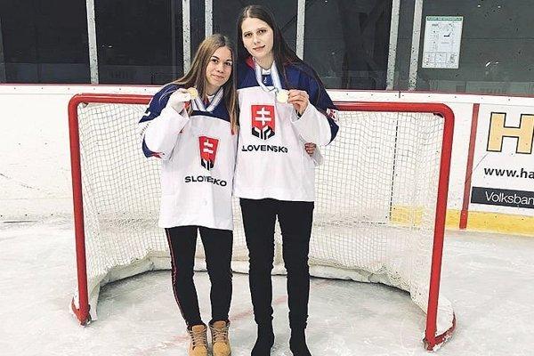 Romana Halušková (vľavo) a Alžbeta Šulíková.