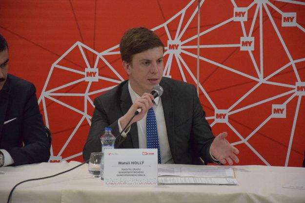 Matúš Hollý – riaditeľ úradu Banskobystrického samosprávneho kraja.