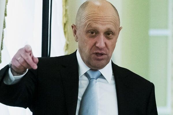 """Putinov kuchár"" Prigožin."