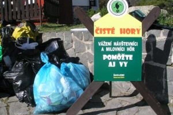 Cieľom podujatia je odbremeniť hory od odpadkov, dobrovoľníci sa môžu tento rok zapojiť už 34. raz.