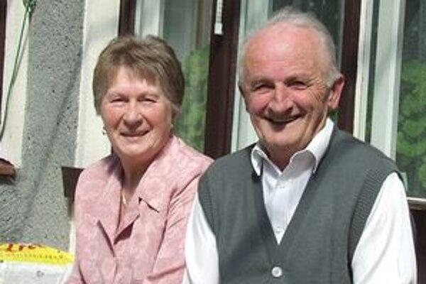 Ličkovi spolu žijú už päťdesiat rokov, zaradili sa medzi zlaté manželstvá.