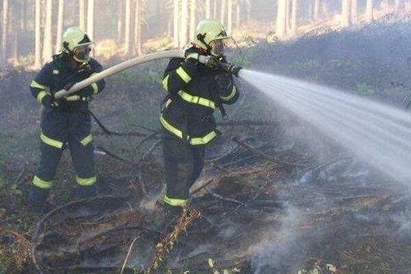 Pri suchom a teplom počasí hrozia požiare.