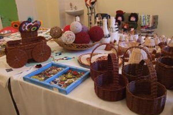Výstava výrobkov v nemocnici už bude mať nádych Vianoc.