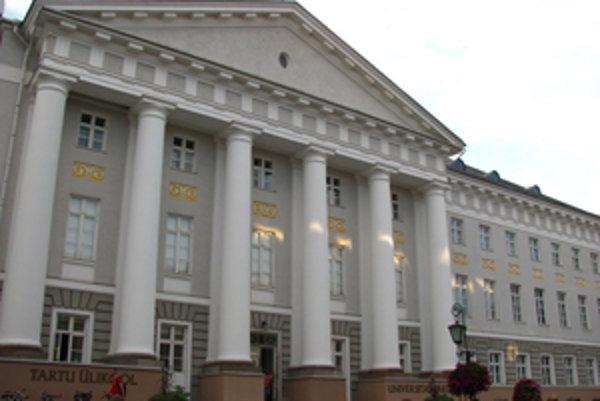 Tartu Univerzita je najstaršou estónskou univerzitou.
