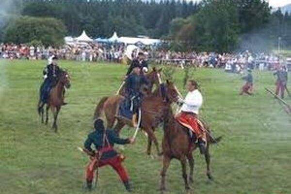 Rekonštrukciu bitky pri Vavrišove by chceli zorganizovať aj tento rok.