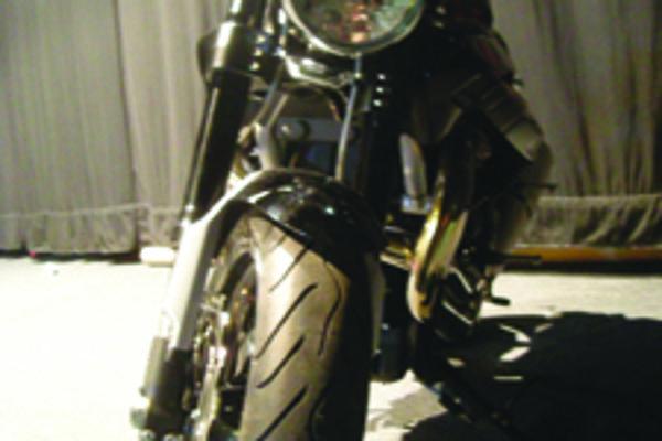 Vystavené motocykle zaberali plochu 700 metrov štvorcových.