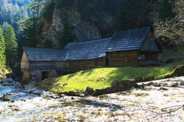 Mlyny v Kvačianskej doline patria medzi turisticky obľúbené a vyhľadávané miesta.