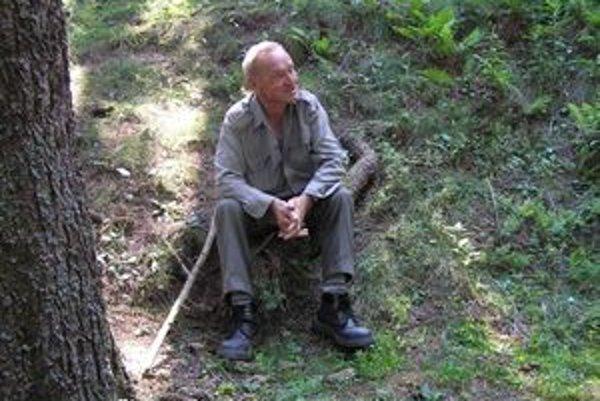 Vladimír Tomčík poznal v hore každý strom, vedel kedy a kde treba hľadať hríby. Hora bola jeho veľkou láskou.