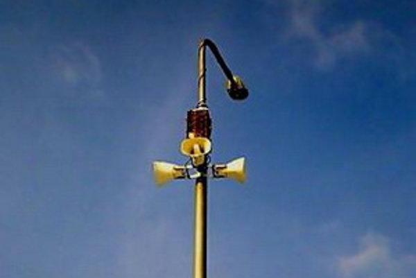 Nový, moderný mestský rozhlas, je zatiaľ v skúšobnej prevádzke.