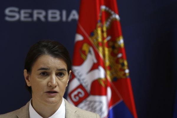 Srbská premiérka Ana Brnabičová.