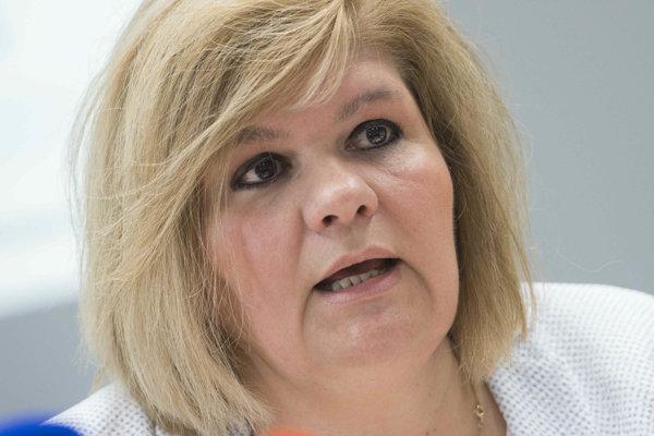 Vedúca odboru zdravotného a revízneho vo VšZP Beáta Havelková.
