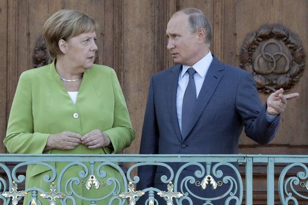 Kontroverzný Nord Stream 2 podľa kritikov zvýši energetickú závislosť Nemecka od Ruska.