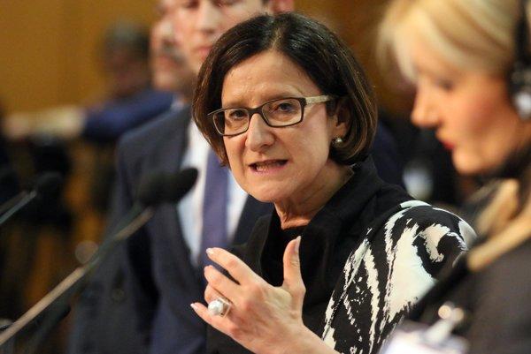 Rakúska ministerka vnútra Johanna Mikl-Lietnerová.