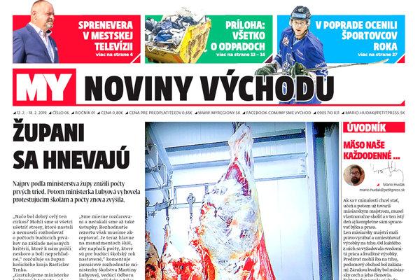 MY Noviny východu píšu o cirkuse okolo stredných škôl, poľskom mäse aj spreneverených peniazoch v Bardejovskej televízii. (ZDROJ: REDAKCIA)