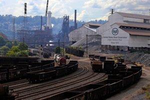Závod U.S. Steel v pensylvánskom South Williamsporte (ilustračné foto).