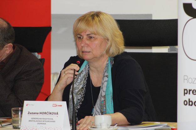 Zuzana Horčíková.