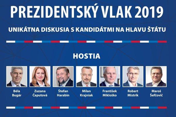 Prezidentský vlak 2019.