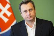 Na snímke predseda NR SR Andrej Danko (SNS) počas tlačového brífingu k výsledkom voľby kandidátov na ústavných sudcov 15. februára 2019.