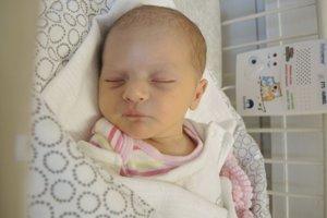 Diana Fulierová (2710 g, 49 cm) sa narodila 3. februára Lucii a Jurajovi z Novej Dubnice.