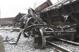 Železničnú trať pri Krompachoch blokujú tony železa (fotogaléria)