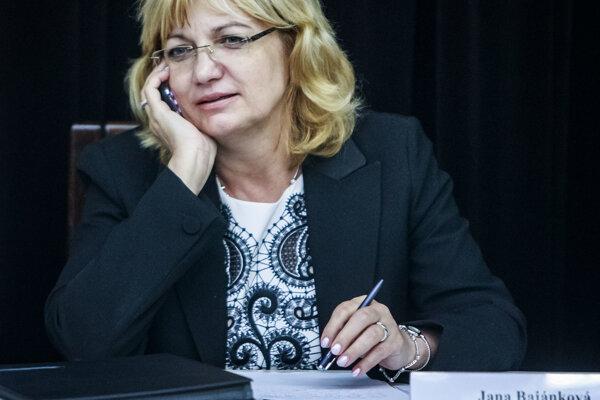 Jana Bajánková.
