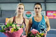 Finalistka Allertova, víťazka Sinikovová