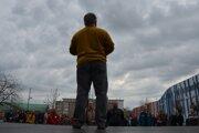 Z vlanajších protestných stretnutí v Lučenci.