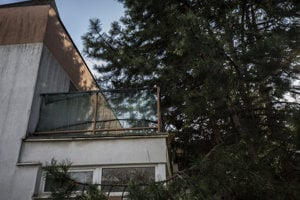 Byt s terasou špeciálneho prokurátora Dušana Kováčika.