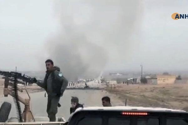 Dejiskom útoku bola dedina Šihajl v provincii Dajr az-Zaur.