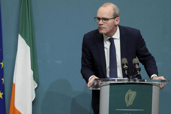 Írsky premiér Simon Coveney.