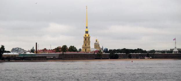 Najstaršia stavba v Petrohrade - Katedrála sv. Petra a Pavla