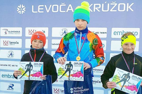 Sebastián Belicaj (vľavo) získal v Levoči dve medaily.