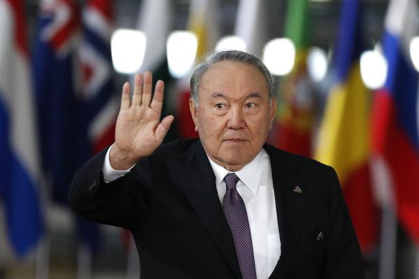 Kazašský dlhoročný prezident Nursultan Nazarbajev.