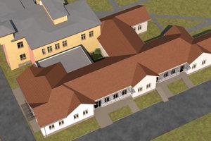 Takto by malo vyzerať nové zdravotnícke centrum v šahanskej nemocnici.