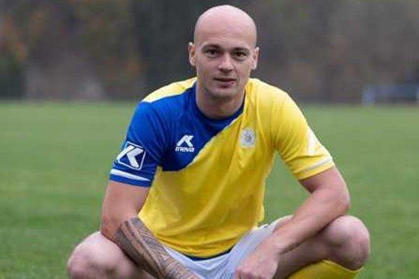 František Mudrík, kapitán TJ Slovan Skalité.
