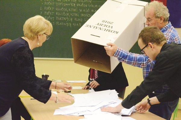 Nové voľby budú vštyroch turčianskych obciach 13. apríla.