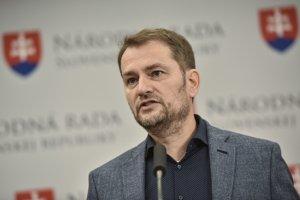 Igor Matovič počas tlačovej konferencie ku kandidatúre do EP.