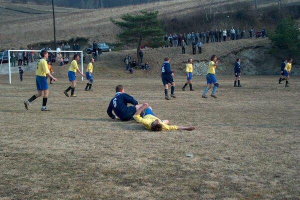 Momentka zo zápasu vsezóne 2006/07.