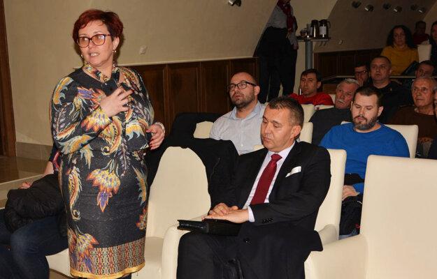 Konferencie sa zúčastnila aj primátorka Topoľčian Alexandra Gieciová a viceprimátor Topoľčian Juraj Želiska.