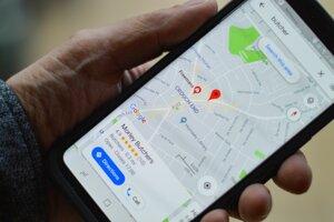 Google mapy - ilustračná fotografia.