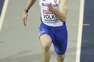 Ján Volko počas semifinále.