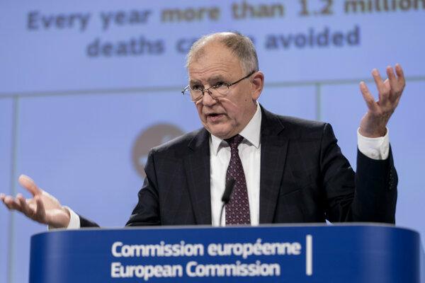 Eurokomisár pre zdravie a bezpečnosť potravín Vytenis Andriukaitis.