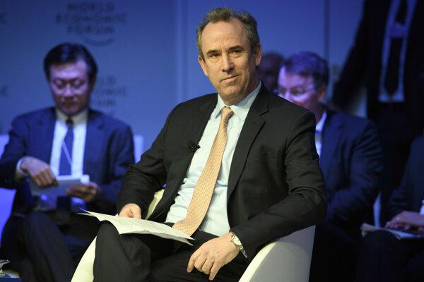Eric Olsen, bývalý generálny riaditeľ spoločnosti LafargeHolcim.